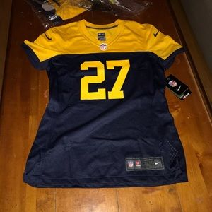 NWT Packers Throwback Lacy Jersey women's S/P